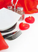 Celebratory table layout — Stock Photo