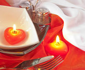 Celebratory table layout — Stock Photo