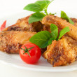 Chicken wings a grill — Stock Photo #11445836