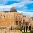 Stock Photo: Ancient city of Jerusalem, city of three religions
