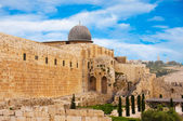 Ancient city of Jerusalem, city of three religions — Stock Photo