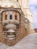 Stenen straatjes van het oude jeruzalem, israël — Stockfoto