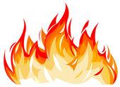 Flames — Stock Vector