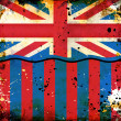 Royalty-Free Stock Photo: Grunge British flag