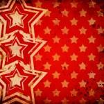 tło czerwone tło z gwiazd — Zdjęcie stockowe