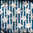 White stars on grunge background — ストック写真 #11507488