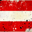 Royalty-Free Stock Photo: Grunge Austria flag with stains