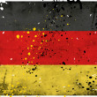 Grunge Germany flag — Stock Photo