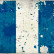 Grunge Guatemala flag with stains — Stock Photo