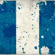 Grunge Guatemala flag with stains - Stock Photo
