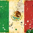 Royalty-Free Stock Photo: Grunge Mexico flag