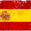 Grunge Spain flag — Stock Photo