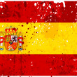 Stock Photo: Grunge Spain flag