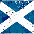 Grunge Scotland flag - Stock Photo