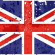 Grunge england flag - Stock Photo