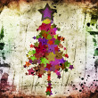 Grunge christmas tree — Stock Photo #11516941