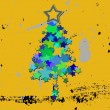 Grunge christmas tree — Stock Photo #11516953