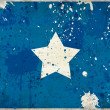 Grunge Somalia flag with stains — Stock Photo