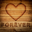 Stock Photo: Love forever