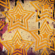 Royalty-Free Stock Photo: Grungy starry background