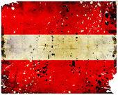 Bandera de letonia grunge — Foto de Stock