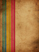 Vintage background with stripes — Stock Photo