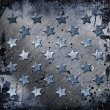Stock Photo: Military Grunge With Stars