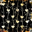 Foto Stock: Abstract hearts