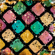 Grunge colorful squares — Stock Photo