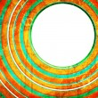Abstract background with circles — Foto Stock
