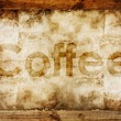 Stock Photo: Coffee text
