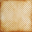 Stock Photo: Vintage dotted background