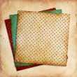 Stock Photo: Vintage patterns on paper background