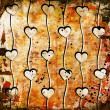 Photo: Hearts on grunge