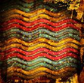 Vintage bakgrund med ränder och fläckar — Stockfoto