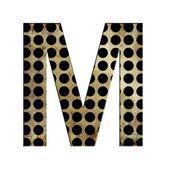 Letter M — Stockfoto