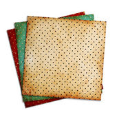 Vintage patterns on white background — Stock Photo