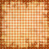 Grunge Illustration der Picknick-Tischtuch — Stockfoto