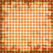 Grunge illustration of picnic tablecloth — Stock Photo