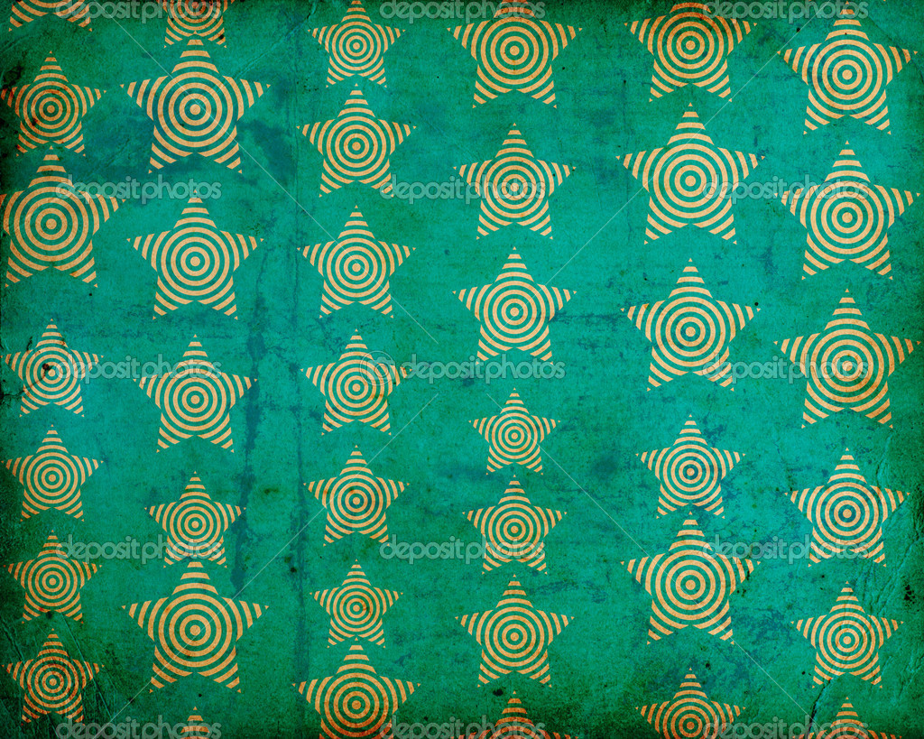 Grunge background with stars — Foto de Stock   #11967826