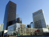 La Defense, modern financial commercial center in Paris — Stock Photo