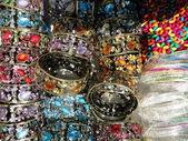Färgglada armband — Stockfoto
