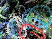 Lot of colorful beads — Stock Photo