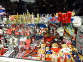 English Souvenirs shop window,London — Stock Photo
