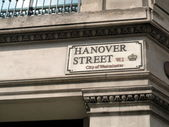 Hanover Street ,City of Westminster, London — Stock Photo