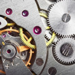 Mechanism gear of vintage clock — Stock Photo