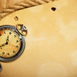 Antique watch and rope — Stock Photo #11388131