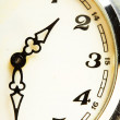 Stock Photo: Old watch macro