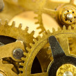 Gears from old mechanism closeup — Stock Photo #11388238