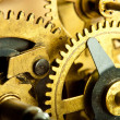 Gears from old mechanism closeup — Stock Photo #11388239